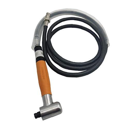 Neumático Micro amoladora angular de aire a 90 grados, 3MM Die herramienta pulidora Lápiz Kit de accesorios de Orange
