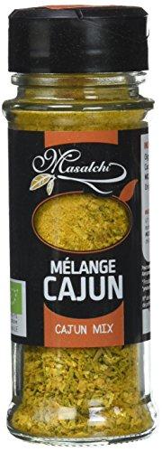 Masalchi Mélange Cajun Moulu Bio 37 g