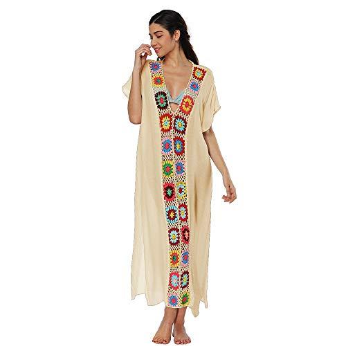 NPRADLA Tendenza per Il Tempo Libero Donne Costumi da Bagno Copricostume Costume da Bagno Costumi da Bagno Crochet all'Uncinetto Copricostume da Spiaggia Sconto Primavera Estate 2019
