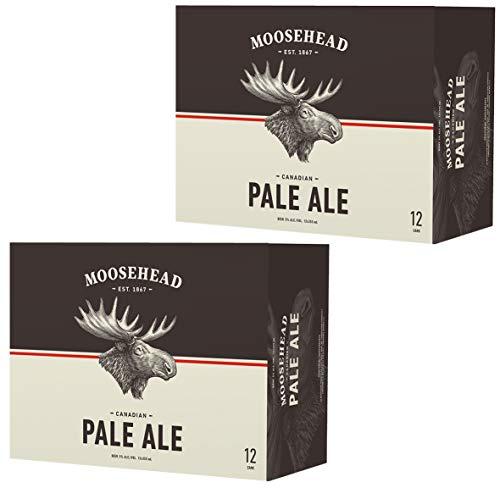 Moosehead Pale Ale Bier 24er Pack (24x355 ml) Dosen - original kanadisches Bier, auch als perfektes Bier Geschenk für Männer (inkl. 6,00 € Pfand)