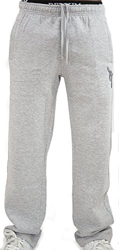 REDRUM Jogginghose Casual Streetwear Modell Bronx (Grau/Anthrazit, Größe S)