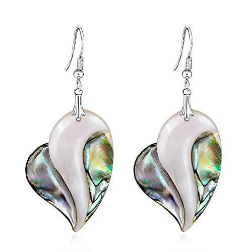 Korean version of the new shell earrings simple natural shell material earrings hot-selling all-match women's earrings