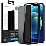 Nillkin Compatible with Privacy Screen Protector iPhone 12 Pro Max 6.7 inch, Privacy Tempered Glass Film with [Easy Installation Alignment Tool] + [Case Friendly] Full Coverage, Bubble Free