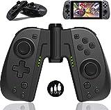 Elyco Mando para Nintendo Switch Joycon, Bluetooth Inalámbrico Wireless Controller Controlador Gamepad Joystick Soporta Turbo para Nintendo Switch