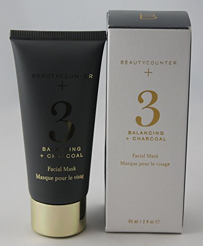 BeautyCounter Beauty Counter No.3 Balancing + Charcoal Facial Mask, 60 mL / 2 oz