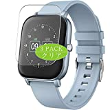 Vaxson 3-Pack Screen Protector, compatible with <span class='highlight'><span class='highlight'>eLinkSmart</span></span> Judneer p22 smartwatch Smart Watch, TPU Guard Film Protector [ NOT Tempered Glass Protectors ]