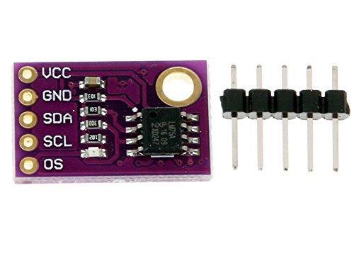 DaoRier JMCU-75 LM75A LM75 Temperatursensor I2C High-Speed Schnittstelle High Precision Modul Board für Arduino Raspberry Pi