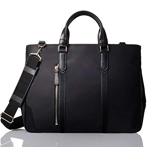 [GLEVIO(グレヴィオ)] ビジネスバッグ メンズ 一流の鞄職人が作る ビジネストートバッグ B4 ブラック