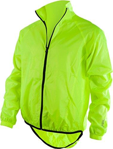 O'NEAL | Mountainbike-Jacke | MTB Mountainbike DH Downhill FR Freeride | Wasserdicht, atmungsaktiv, Windbreaker- Jacke | Breeze Rain Jacket | Erwachsene | Neon-Gelb | Größe XXL