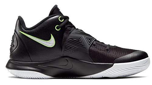Nike Mens Kyrie Flytrap III Basketball Shoe, Black/White-Volt