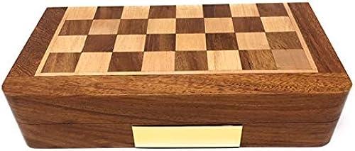 SAR Personalisiertes Faltschach, Backgammon und Zugluft-Set