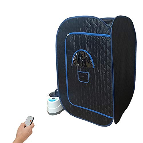 GJXJY Zuhause Dampfsauna Faltbares Saunazelt 2L 1000W Dampfsauna Topf Dampfmaschine, Fernbedienung, Erhöhung Der Durchblutung, Gewichtsverlust, Müdigkeit Reduzieren