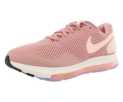 Nike W Zoom all out Low 2, Scarpe da Ginnastica Basse Donna, Multicolore (Rust Pink/Storm Pink/Crimson Tint 001), 41 EU