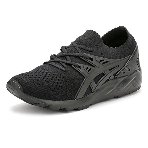 ASICS Herren Gel-Kayano Trainer Knit H705N-9090 Sneaker, schwarz, 44 EU