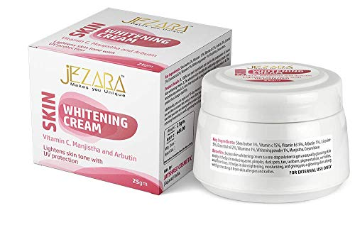 Jezara - Makes You Unique Skin Whitening Cream with Trial Pack