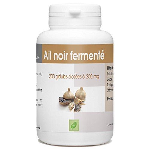 Fermentoitu musta valkosipuli - 250 mg - 200 kapselia - Allium sativum L.