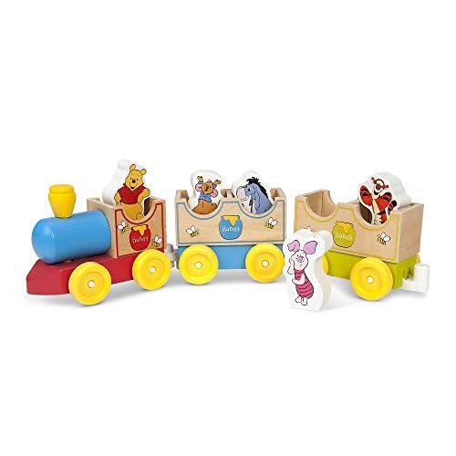 Melissa & Doug Disney Baby Winnie the Pooh All Aboard Wooden Train