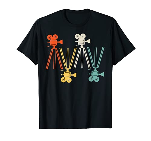 Trípode analógico para cámara de vídeo, fotografía o regalo Camiseta