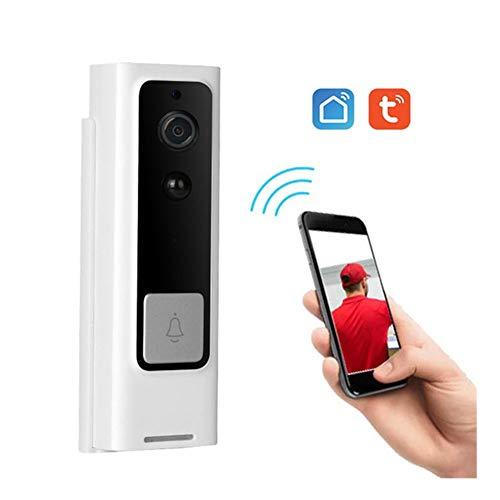 WiFi Smart-Visuelle Intercom, Tuya APP-Fernbedienung für Alexa Echo Google-Startseite Sprachsteuerung Smart Home drahtlosen Türklingel Home Monitor