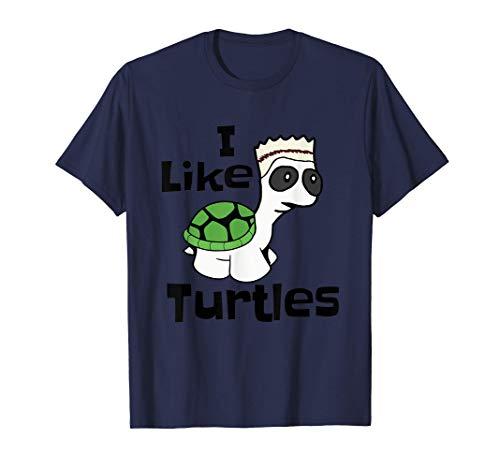 Gracioso que me guste la camiseta de las tortugas bebé Camiseta