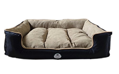 Loving Care Pet Products Ultra Supreme Lounger Style Pet Bed and 3 Sizes