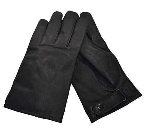 AR TACTICAL BW Bundeswehr Einsatz Handschuhe aus Ziegenleder gefüttert für den Winter (L)
