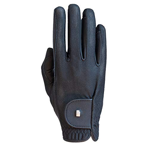 Marke: Roeckl Roeck Grip Lite Sommer Reithandschuhe schwarz Handschuhe Gr.8