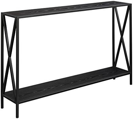 Best Convenience Concepts Tucson Console Table, Black