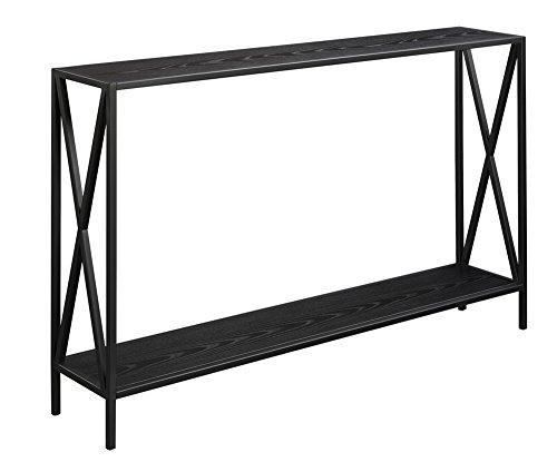 Convenience Concepts Tucson Console Table, Black