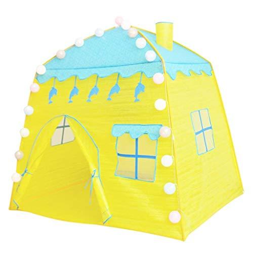 CSQ Children's Castle Tent, Toddler's Reading Corner Children's Play Space Multifunctional Tent House /132 * 100 * 132 Cm Children's play house (Size : 132 * 100 * 132cm)