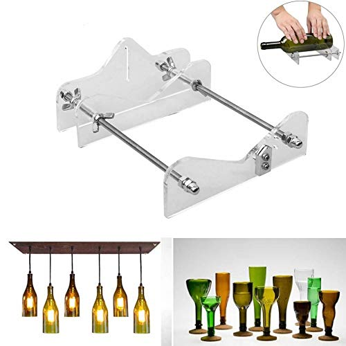 Best Quality Long Glass Cutter Machine Cutting Safety Easy to Use DIY Hand, Glass Bottles Cutter - Bottling Machines, Long Beer Glass, Diamond Bottle Cutter, Cutter Whiskey, Black Glass Wine Bottle