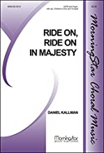 Ride On, Ride On in Majesty(Choral Score) - Organ, opt. Trumpet - Choral Sheet Music