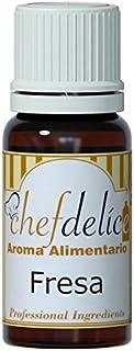Chefdelice Chefdelice Aroma Concentrado Para Glaseados, Helados, Horneados Y Cremas Sabor Fresa, 10Ml Chefdelice 21 g
