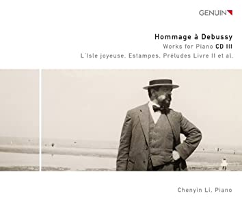 Hommage à Debussy: Works for Piano CD 3