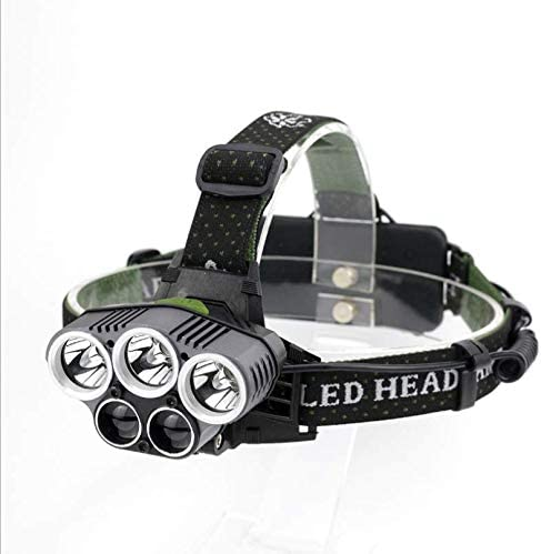 Outdoor 5LED telescopic headlight glare searchlight zoom Direct stock discount T6 Ranking TOP17 char