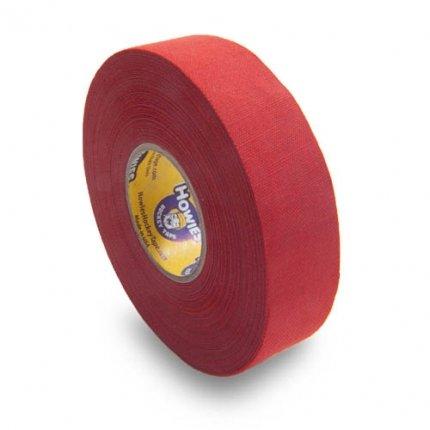Schlägertape Profi Cloth Hockey Tape 25mm f. Eishockey farbig (rot), 23 m