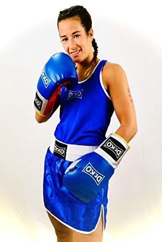 Dr. KO Uniforme Femenino de de Boxeo - Conjunto de 2 Piezas