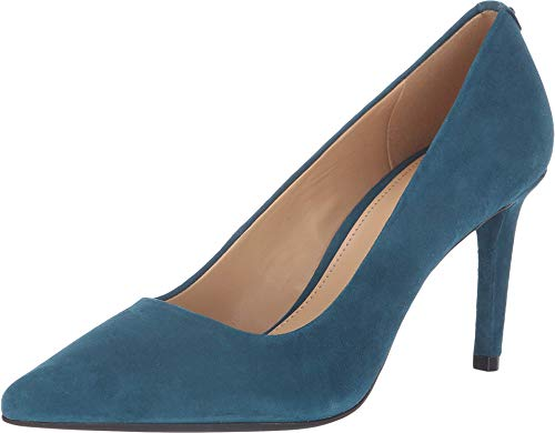 Michael Michael Kors Womens's Dorothy Flex Pumps Luxe Teal, Luxe Teal, Size 7.0