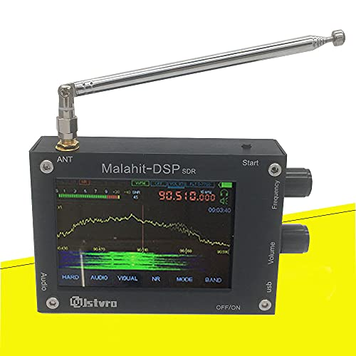 All-New 1.10b 50KHz-2000MHz 2GHz Malahit DSP SDR Receiver Malachite MDR2000 Registered HAM Nice Sound with 3.5 Inch Touching LCD Screen