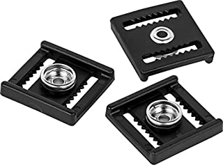 Rawlings CFCLIP Set of 3 buckles for CFA/CFP Black