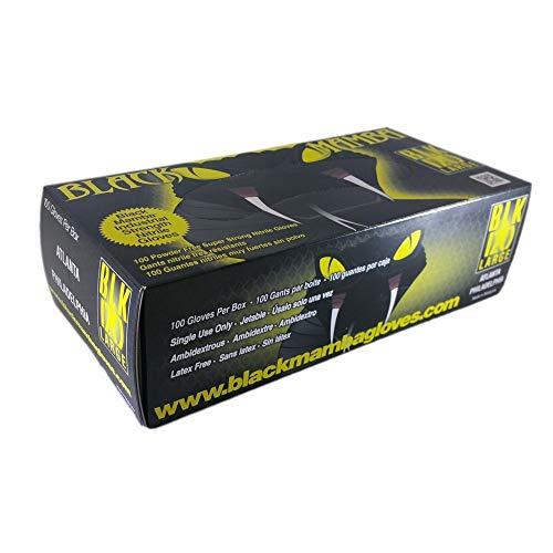 Unbekannt Black Mamba 100 Handschuhe Atelier Größe L
