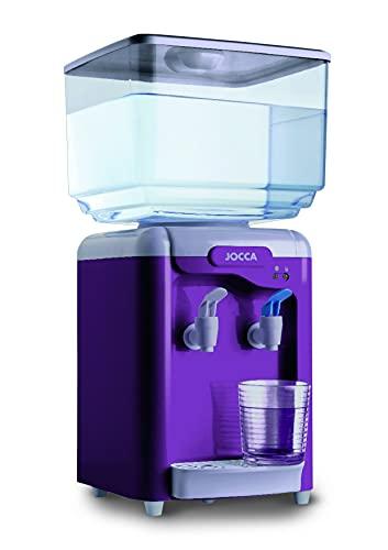 JOCCA - Dispensador de agua con depósito de 7 litros - Morado
