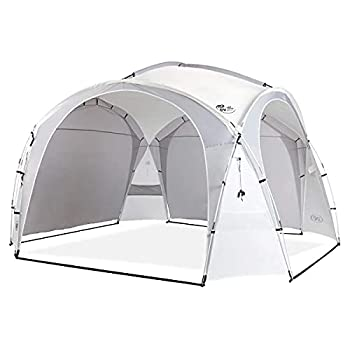 unp Easy Beach Tent Camping Sun Shelter Backyard Canopy 15x15ft Easy up Cabana Portable Rainproof Waterproof Sturdy Ideal for Outdoor Sports Events Family Picnics Gathering