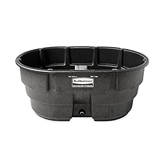 Rubbermaid Commercial Products FG424500BLA Stock Tank, Structural Foam, 150 gal, Black (B004H35IV2)   Amazon price tracker / tracking, Amazon price history charts, Amazon price watches, Amazon price drop alerts