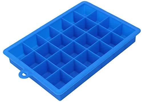 HTL Qualité Alimentaire Moule À Glaçons Plateau Carré Plateau de Glace Ice Cube Maker Bar Accessoires de Cuisine Choix: Couleurs Aléatoires