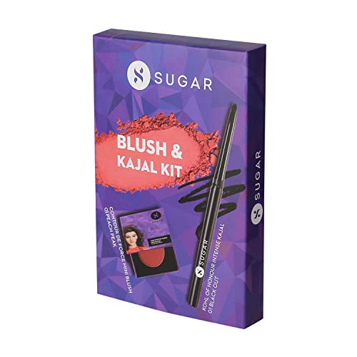 SUGAR Cosmetics Kohl Of Honour Intense Kajal, 01 Black Out...