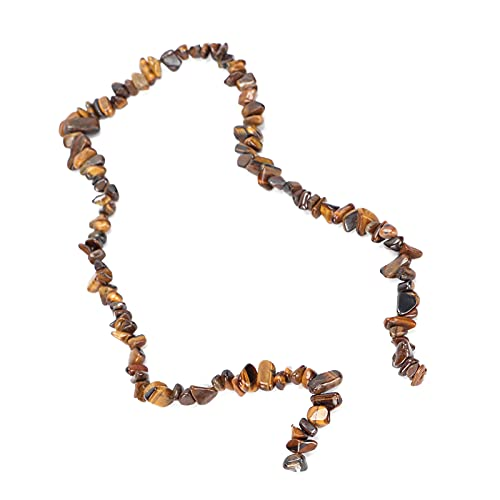 Joyas DIY Bead, Bead Conveniente para aretes para collares para tobilleras para pulseras(Ojo de tigre)
