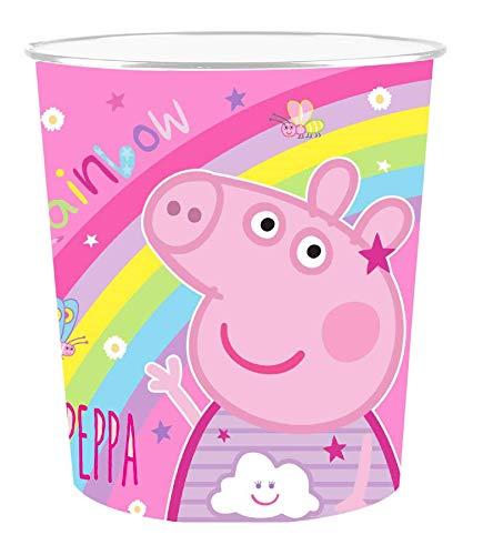 Peppa Pigs Papierkorb für Kinder, Schlafzimmer, Papierkorb
