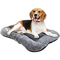 FOCUSPET Ultra Soft Dog Crate Bed (Large 35 x 23 x 4)