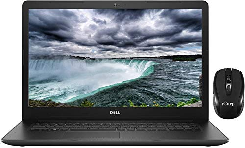 "2020 Newest Dell Inspiron 17 3000 3793 Business Laptop, 17.3"" Full HD Anti-Glare, 10th Gen Intel Core i3-1005G1 (Beats i5-7200U), 8GB DDR4 1TB HDD, WiFi HDMI Webcam Win 10 + iCarp Wireless Mouse"